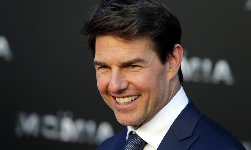 Tom Cruise visita el nuevo campo del Atlético de Madrid