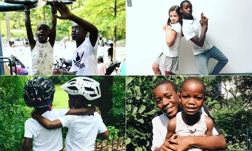Madonna presume de hijos en Instagram