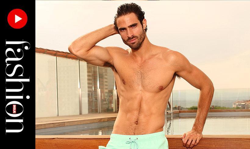 Making of': Juan Betancourt, el hombre del verano, en H!FASHION