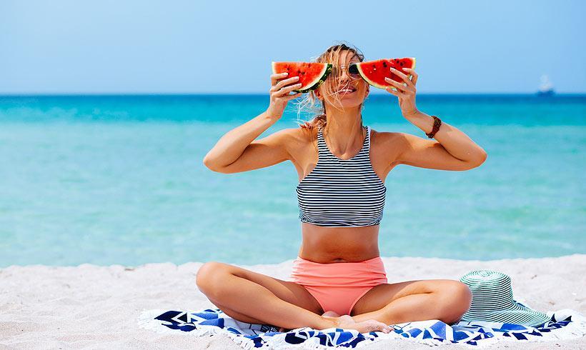 Las 8 claves para no engordar en verano