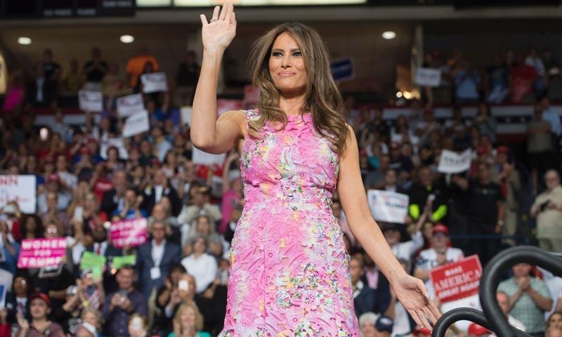 Nadie podrá comprar el último vestido de Melania Trump