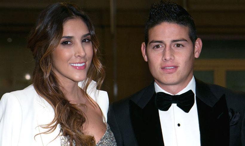El futbolista James Rodríguez y Daniela Ospina anuncian su ... | 820 x 490 jpeg 42kB