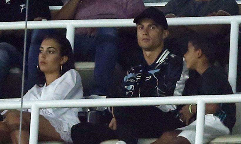 Así estaba Cristiano Ronaldo el día que el Madrid se alzó con la Supercopa