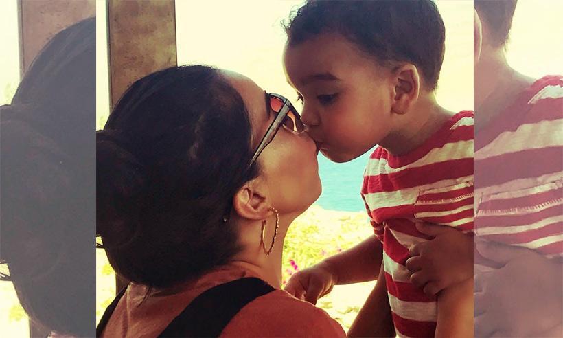 La bonita felicitación de Beatriz Luengo a su hijo por su cumpleaños
