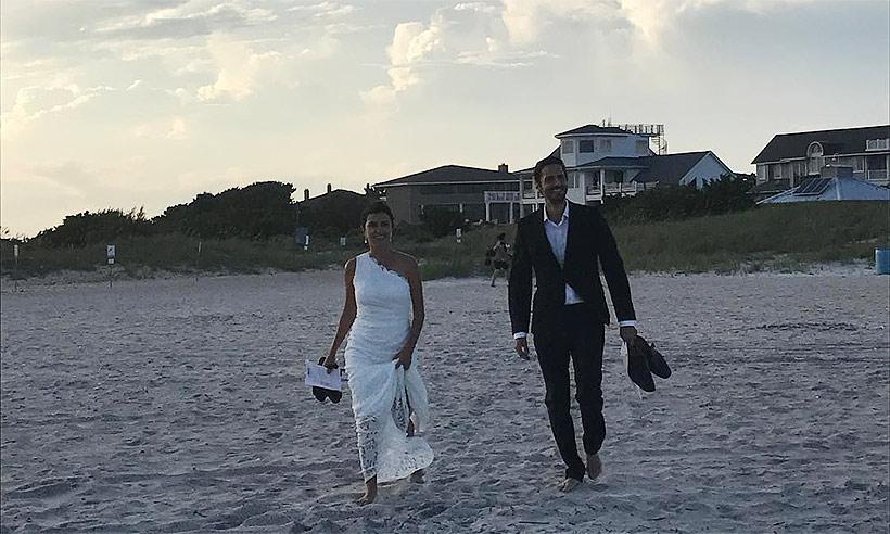 María Botto comparte una nueva imagen de la boda de su hermano Juan Diego Botto