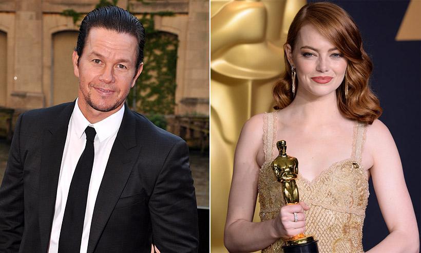 Mark Wahlberg es el actor mejor pagado del año y gana más del doble que Emma Stone, la mejor pagada