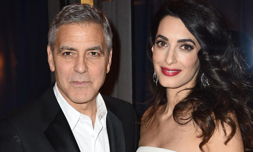 George y Amal Clooney donan 800 mil euros a la lucha contra el racismo