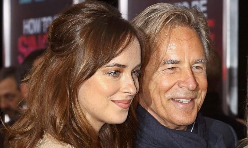 Don Johnson habla del romance de su hija Dakota con Chris Martin