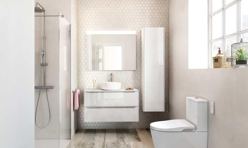Cómo decorar un cuarto de baño pequeño para ganar más espacio y ...