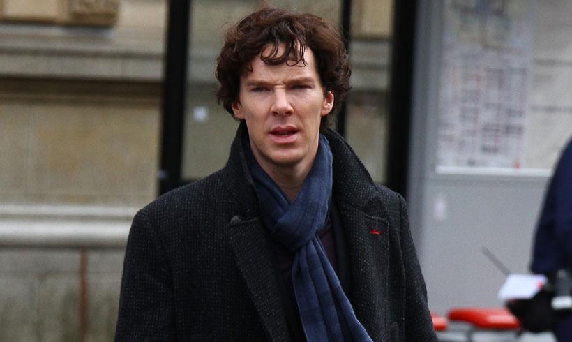 El actor Benedict Cumberbatch (Sherlock Holmes) salva a un ...