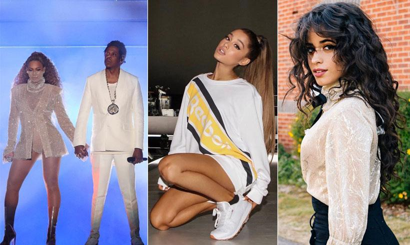 Beyoncé, Jay-Z, Camila Cabello y Ariana Grande entre los nominados a los MTV Video Music Awards