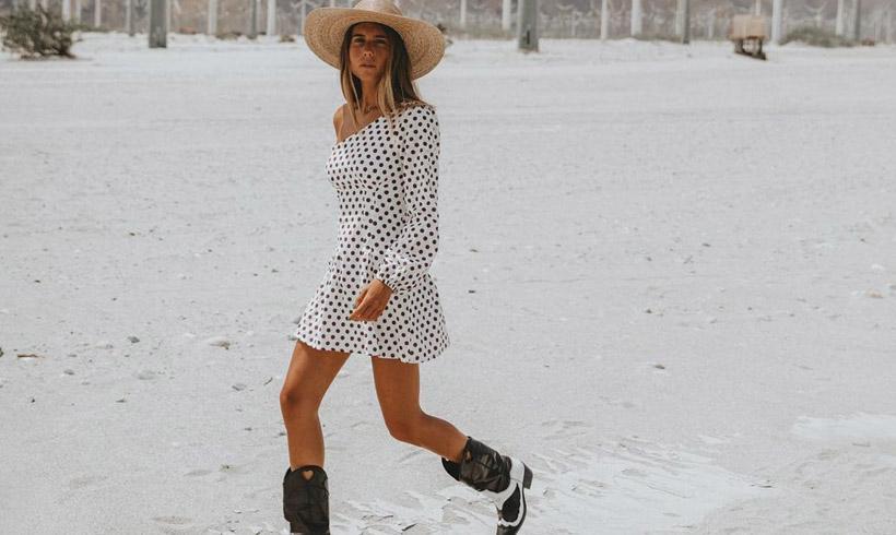 58f0aef09 Vestidos y botas 'cowboy': la combinación que funciona en looks urbanos, de