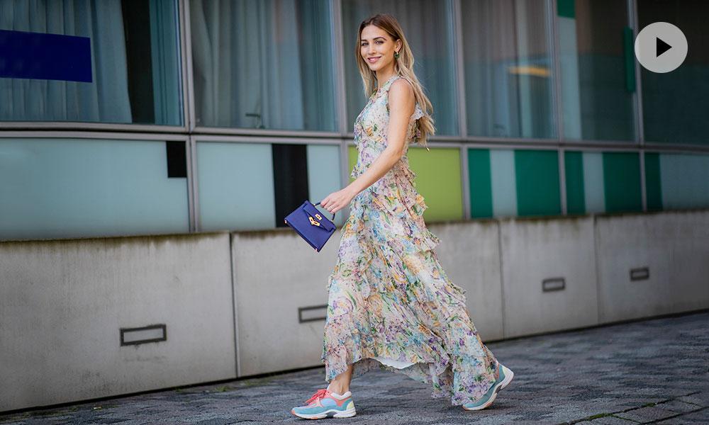 Vestidos Con Zapatillas 12 Ideas Para Llevar El Look Más