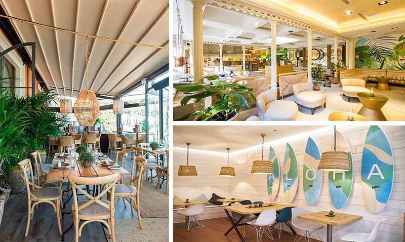 10 Restaurantes De Diseño Con Terraza Y Sin Ella Para
