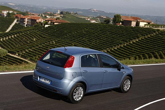 Fiat lanza el nuevo Grande Punto Gas Natural