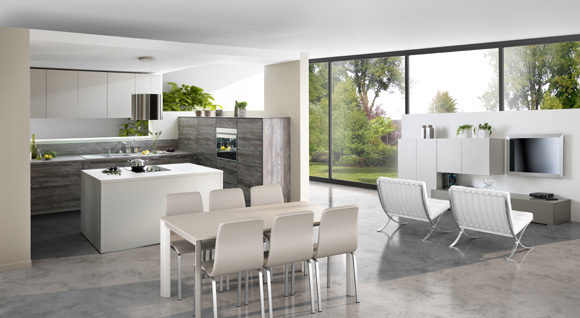 Calidez y equilibrio en las nuevas cocinas de schmidt for Ultimas novedades en cocinas