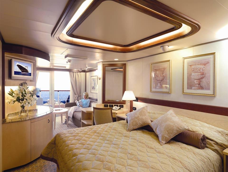 Cruceros fuera de serie - Fotos de habitaciones de lujo ...