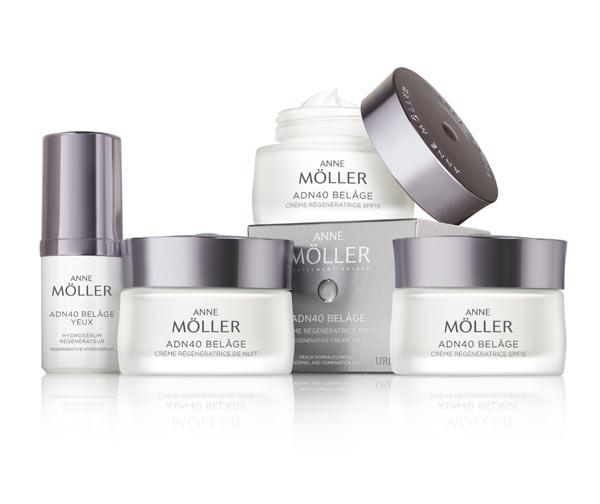 Frena el paso del tiempo con la cosmética regenerativa del futuro: ADN40 Belâge de Anne Möller