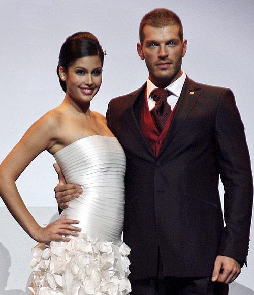 Darek y Miss España, novios por un día