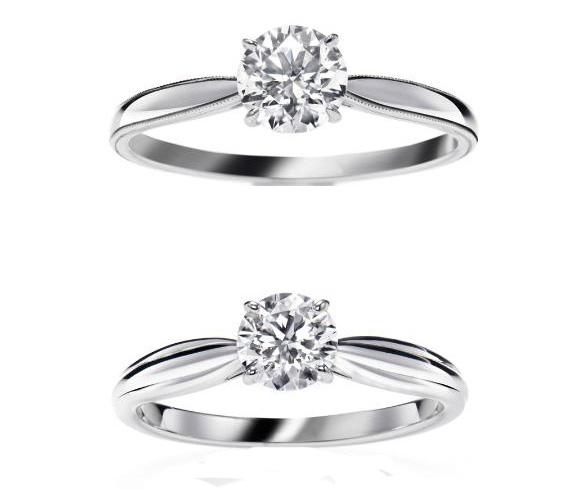 En el corazón de la Gran Manzana, los selectos clientes de la joyería Harry Winston no sólo disponen de un extenso catálogo de anillos de compromiso a su