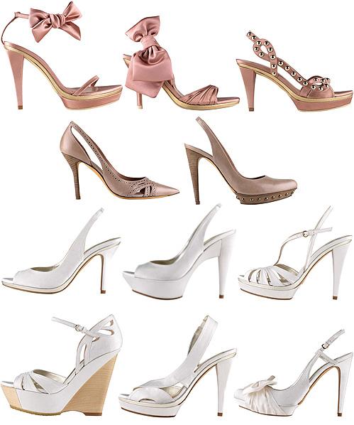Vestidas de rosa... con zapatos a juego