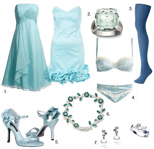 Top complementos has escogido ya tu 39 algo azul 39 for Color aguamarina