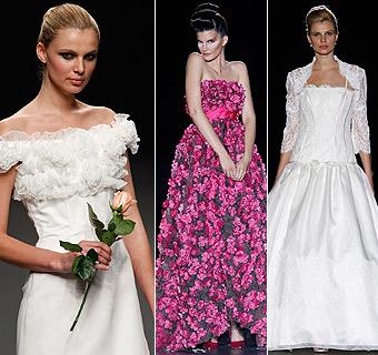 Todos los vestidos de novia de Cibeles, a un 'click'