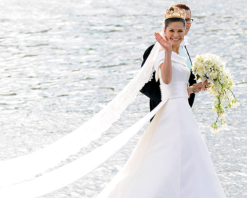 Victoria de Suecia, la novia más guapa del año