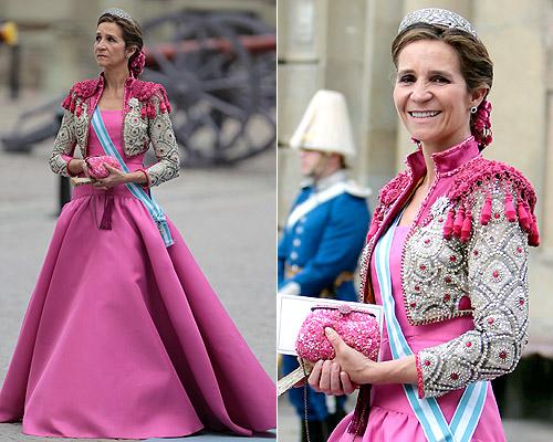 La Infanta Elena, la invitada más elegante de 2010