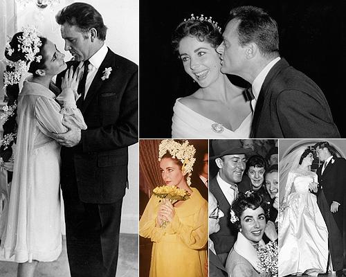 Resultado de imagen para Subastarán fotografía de boda de Elizabeth Taylor