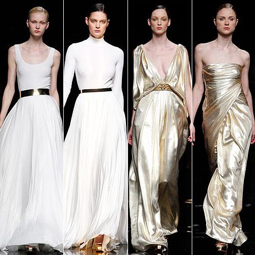Barcelona Bridal Week 2012: El 'revival' dorado de Rosa Clará