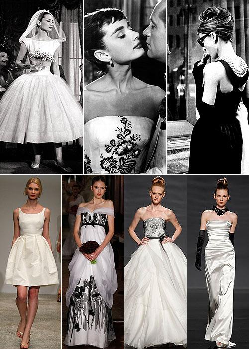Ideas muy 'chic': Inspira tu 'look' de novia en Audrey Hepburn