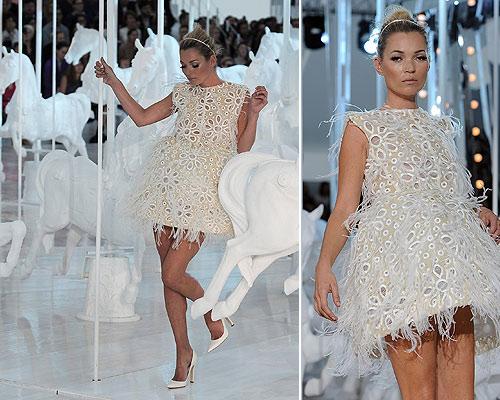 kate moss: un vestido de novia 'top'