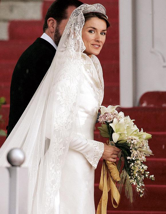 los inolvidables ramos de novia de las princesas europeas - foto