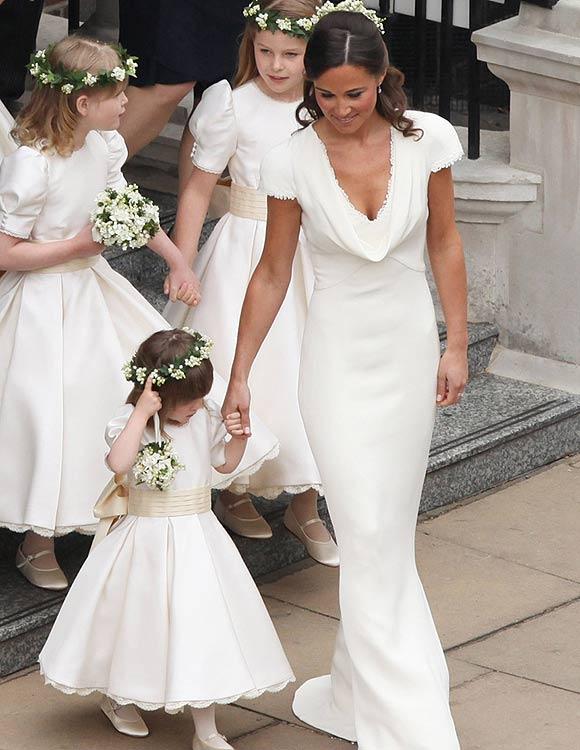 el vestido de pippa middleton ya es uno más de la colección de