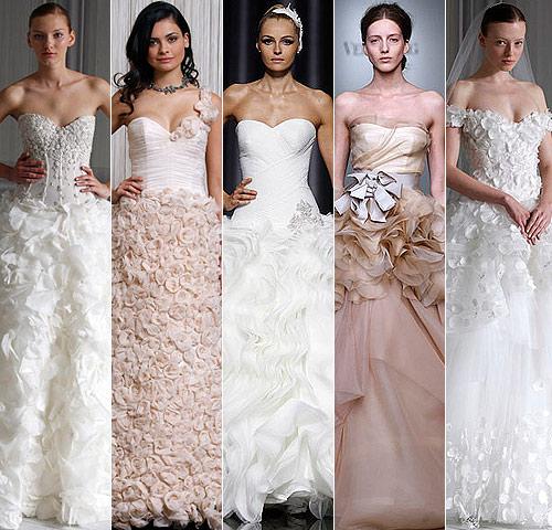 Tendencias 2012: Faldas y vestidos con texturas