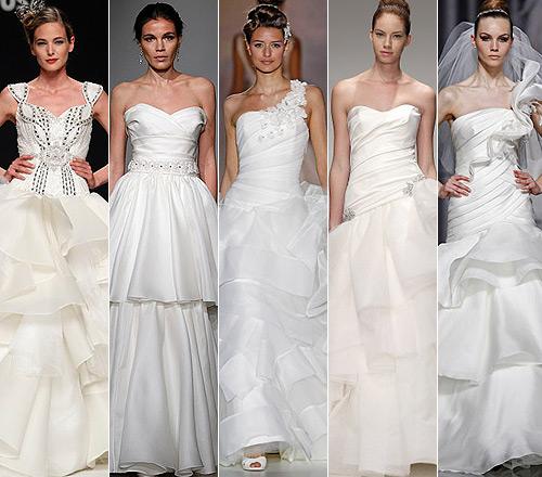 Tendencias 2012: Sube el 'volumen' a tu vestido de novia