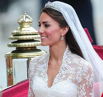Catherine Middleton es la novia más guapa del año