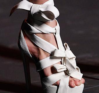 Zapatos para novias: La Alta Costura a tus pies
