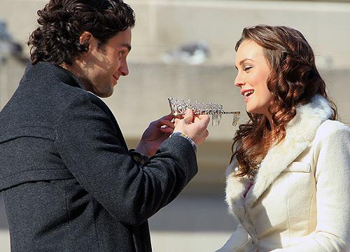 Oscar de la Renta y su vestido de princesa para 'Gossip Girl'