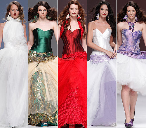 Gaudí Novias 2013: Jordi Dalmau repite con sus impresionantes vestidos desmontables