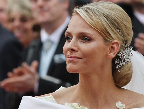Charlene de Mónaco, la princesa con el peinado de novia más bonito