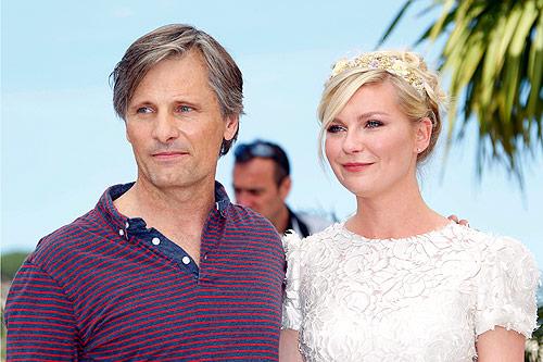El 'look' más angelical de Kirsten Dunst en Cannes