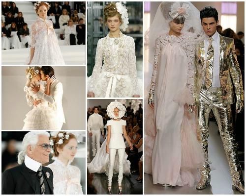 Los 18 vestidos de novia de Chanel
