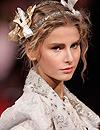 Un peinado de novia inspirado en Christian Lacroix
