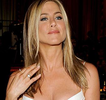 El misterioso anillo de compromiso de Jennifer Aniston