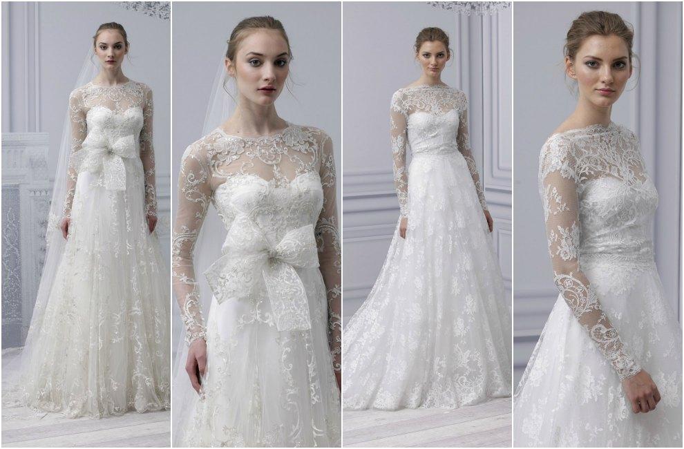 Como hacer vestido de novia con encaje