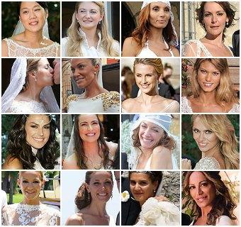 VOTACIÓN: Las novias más guapas de 2012