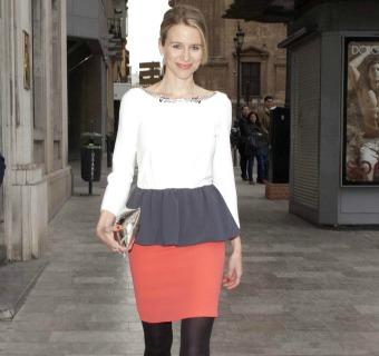 María León es la invitada más elegante del año