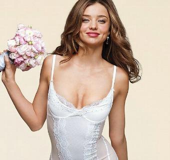 Miranda Kerr, una novia con mucho 'ángel'